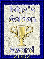 Lotje's golden award!