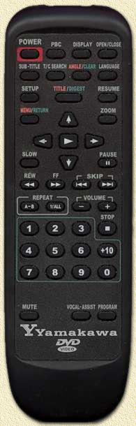 The Yamakawa Remote Control - Click a button for info!