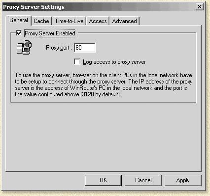 Перед началом работы с ProxyInspector необходимо убедиться что в WinRoute в